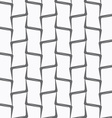 Repeating ornament vertical bamboo lines vector image
