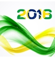 Rio Brazil 2016 Olympic Summer Games Abstract vector image vector image