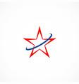star loop company logo vector image vector image