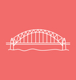 Sydney Harbour Bridge vector image vector image
