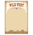 Wild west background for text