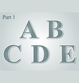 guilloche letters ABCDE