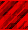 abstract red background colorful mosaic vector image