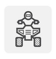 atv offroad icon vector image