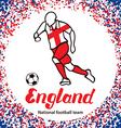 England 3 vector image