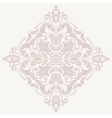 Floral Pattern Orient Abstract Pink Ornament vector image