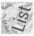 Job Interviews Make An Application Cheat Sheet vector image vector image