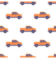transport isolated classic pickup seamless pattern vector image vector image