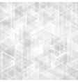 Trendy triangles backdrop vector image
