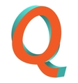 Twisted Letter Q Logo Icon Design Template Element
