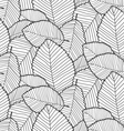 leafs pattern vector image