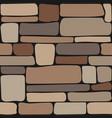 stones texture seamless stone wall brick vector image