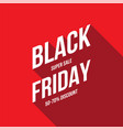 abstract black friday sale layout background for vector image vector image
