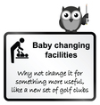 Baby Changing vector image vector image