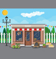 daily products shop traditional fair vector image