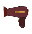 Isolated hair dryer design vector image vector image