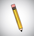 pencil design vector image