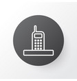 phone icon symbol premium quality isolated call vector image