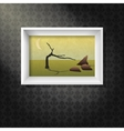 picture on the wall vector image vector image
