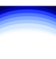 Abstract blue wave background template vector image vector image