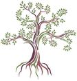 beauty Stylized tree vector image vector image