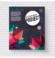 Business project template vector image vector image