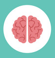 creative brain icon vector image