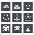 Icons for Web Design set 10 vector image vector image