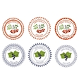 Logo currant and rowan design element package vector image vector image