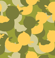 Military camouflage rubber ducks Military texture vector image vector image