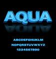 modern font for design print advertising