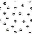trail the wolf paw vector image vector image