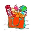 Travel Shop Concept vector image
