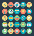 Celebration and Party Colored Icons 3 vector image vector image
