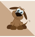 Cute dog vector image vector image