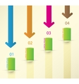 Different Way Infographics Set vector image