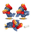 drunk crows ambassador lost scroll of the royal vector image vector image