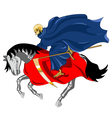 Equestrian of the Apocalypse Death vector image vector image