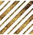Golden diagonal lines vector image