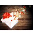 Valentine Day Magic Gift vector image vector image