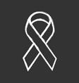 awareness ribbon chalk icon public