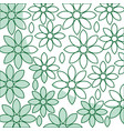 Beautiful flower pattern decoration icon