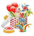 Celebration Box vector image vector image