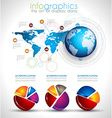 Collection of quality Infographics objects vector image
