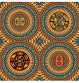 Inca iconography vector image vector image