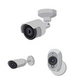 isolated object of cctv and camera sign vector image