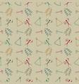primitive symbol pattern background vector image