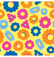 seamless pattern of variety of bolts vector image vector image