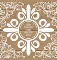 vintage page decoration concept vector image vector image