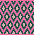 diamond ikat seamless repeat pattern design vector image vector image